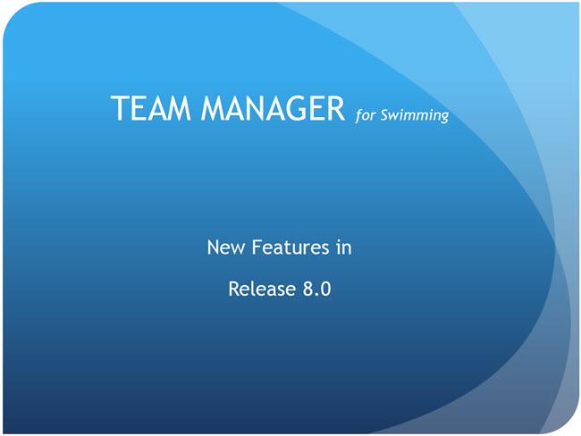 Swim Meet Tournament Software & Solutions